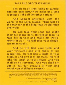 thumbnail-of-Poster -- Says the Old Testament 1 Samuel 4-20